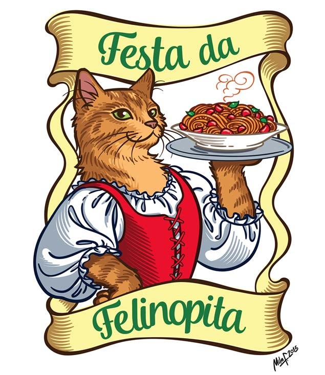 A 4ª edição da 'Festa da Felinopita' acontece neste domingo (1/11) em São Paulo (Reprodução/Facebook/Confraria dos Miados e Latidos)