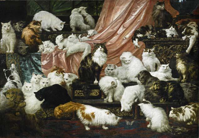 O quadro 'Os Amantes da Minha Mulher', do austríaco Carl Kahler, leiloado pela Sotheby's, (Reprodução/Sotheby's)
